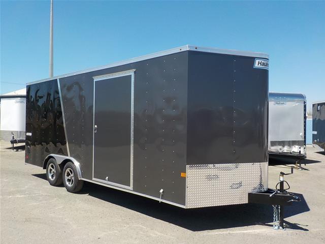 2017 Haulmark PPT85x20WT2 Black/Charcoal Enclosed Cargo Trailer