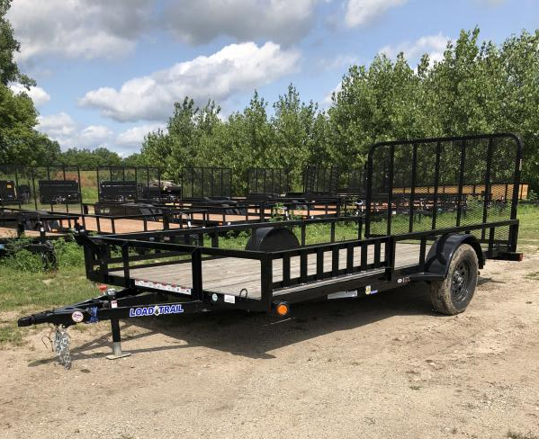 Load Trail 83 x 14 SA ATV Trailer