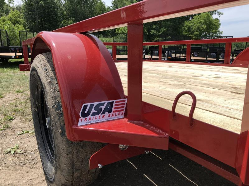Load Trail SE Red 77x12 Utility Trailer