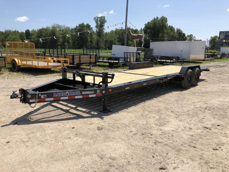 Load Trail 83x24ft 14K Split Deck Tilt Trailer
