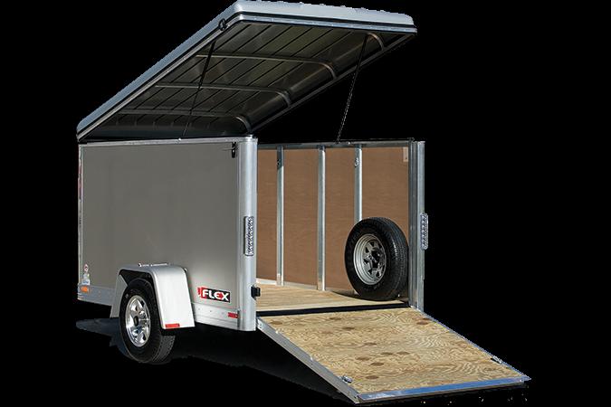 2017 Haulmark FL5X8DS1 Enclosed Cargo Trailer