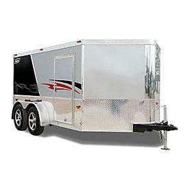 Haulmark V-Nose Low Hauler WT2 Motorcycle Trailer