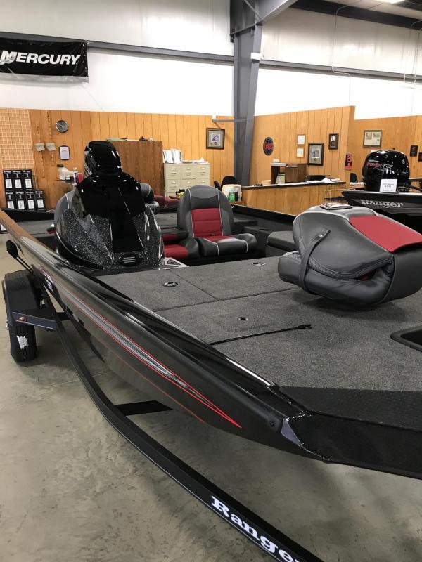 2017 Ranger RT178 17'  Bass Boat