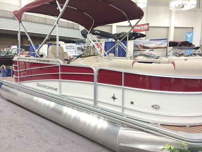 2016 Berkshire 21RFX 22' Power Boat - Pontoon Boat