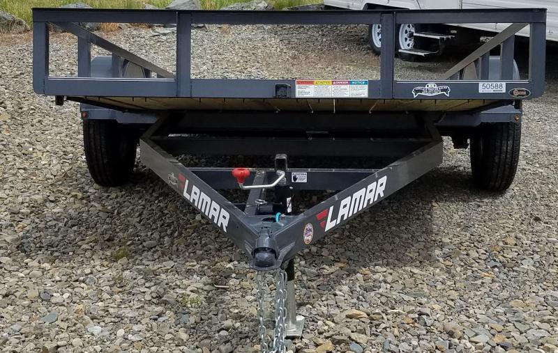 2017 Lamar Trailers 5RVSA1218HP05 Utility Trailer