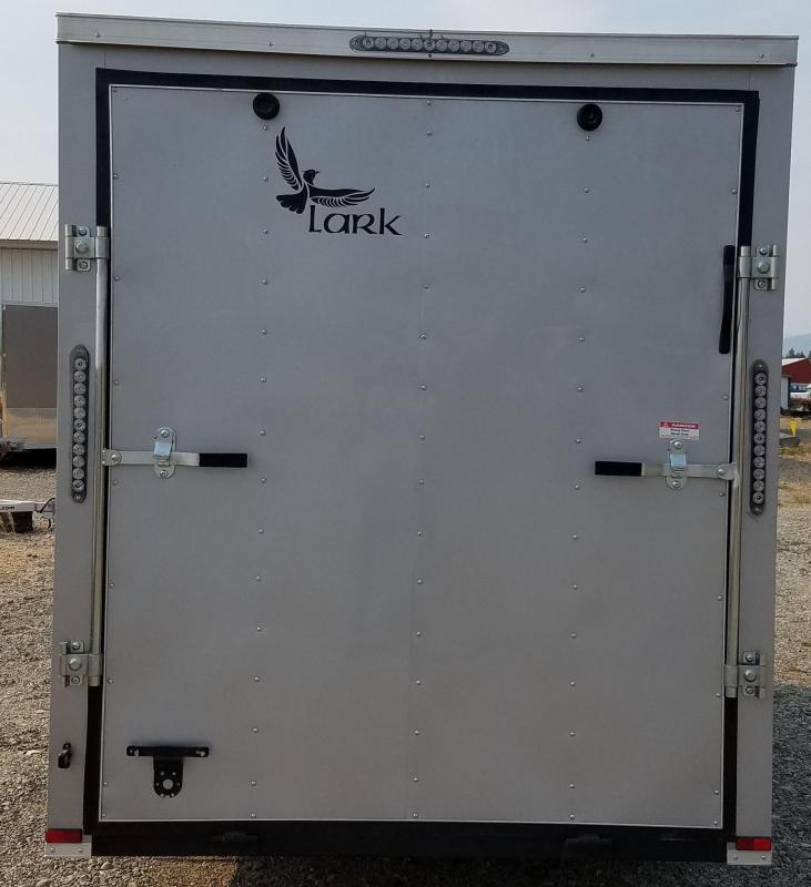 2017 Lark VT612SA Enclosed Cargo Trailer