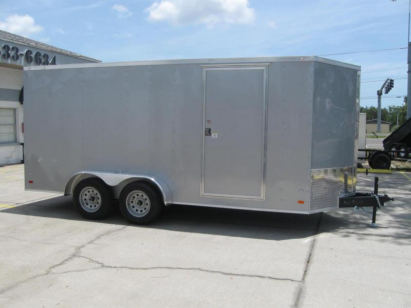 2017 Covered Wagon Trailers GM716TAV Enclosed Cargo Trailer