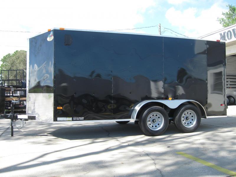 2017 Covered Wagon SS716TAV Enclosed Cargo Trailer