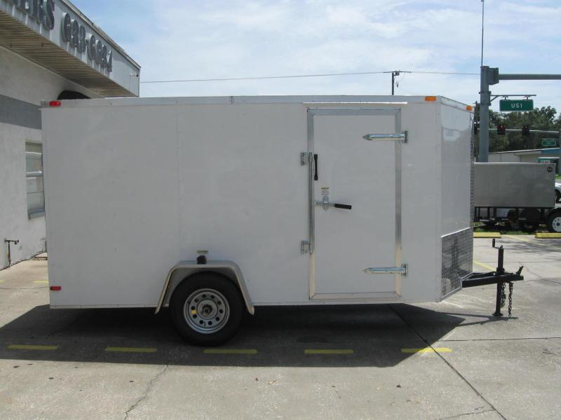 2018 South Georgia 6x12 Enclosed Cargo Trailer