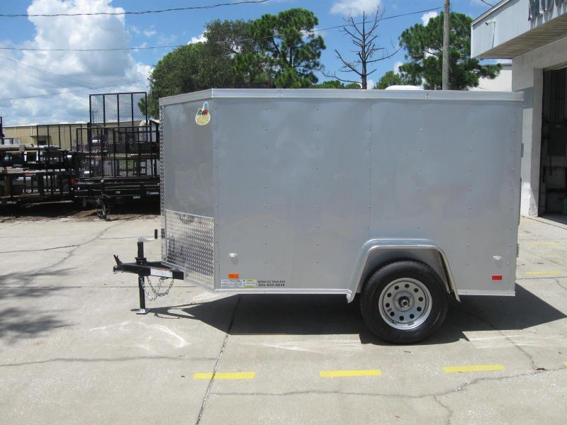 2018 Covered Wagon 5X8SA-V Enclosed Cargo Trailer