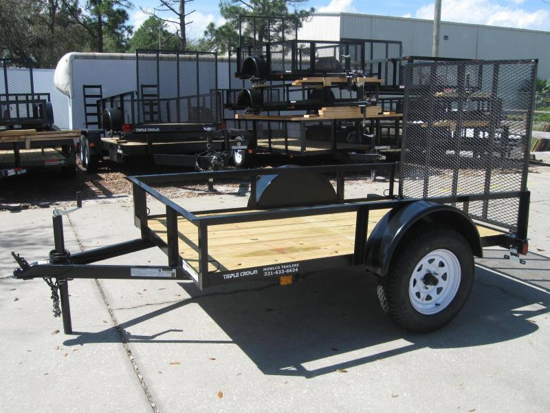 2017 Triple Crown 5x8 Utility Trailer