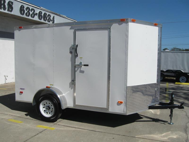 2018 Freedom Trailers 6X10SA-V Enclosed Cargo Trailer