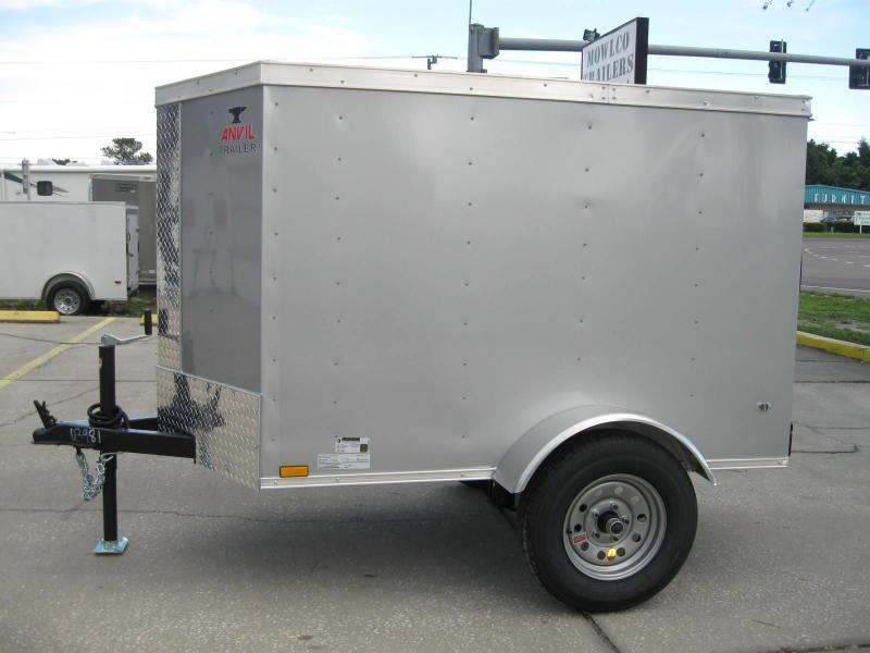 2018 Anvil 4X6SA-V Enclosed Cargo Trailer