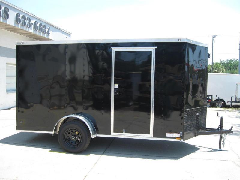 2017 Anvil 6X12SA-V Enclosed Cargo Trailer