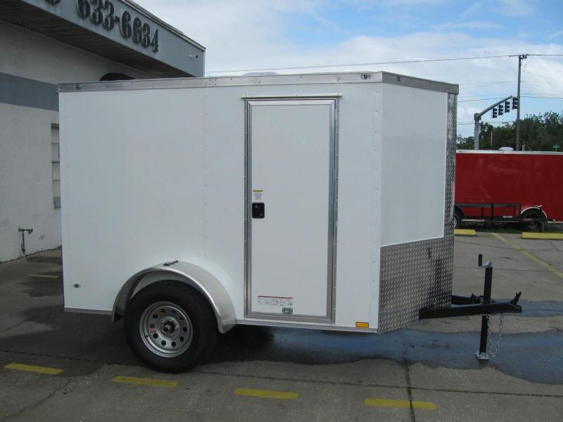 2018 Anvil 5X8SA-V Enclosed Cargo Trailer