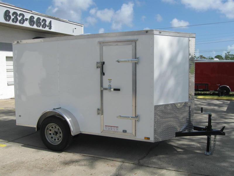 2018 Anvil 5X10SA-V Enclosed Cargo Trailer