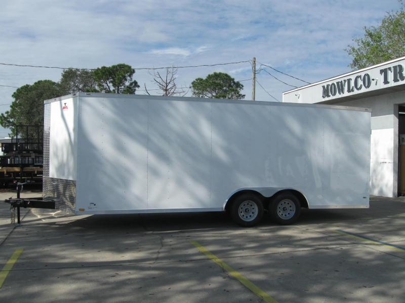 2017 Anvil 8.5X24TA-V Enclosed Cargo Trailer