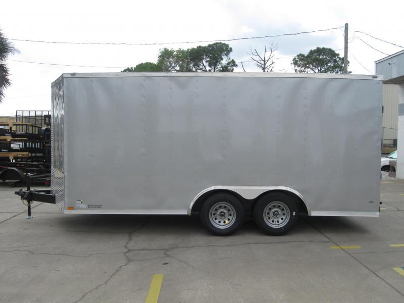 2017 Anvil 8.5X16TA-V Enclosed Cargo Trailer