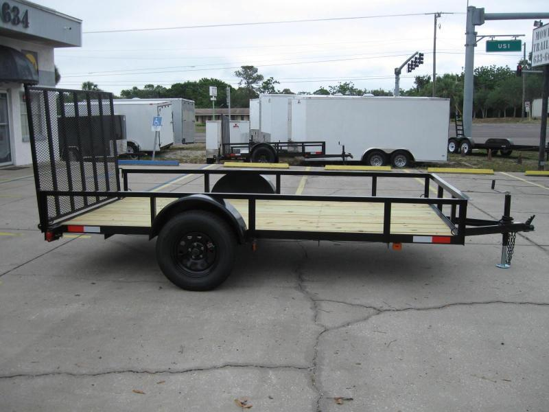 2017 Triple Crown 6.5x12 DLX Utility Trailer