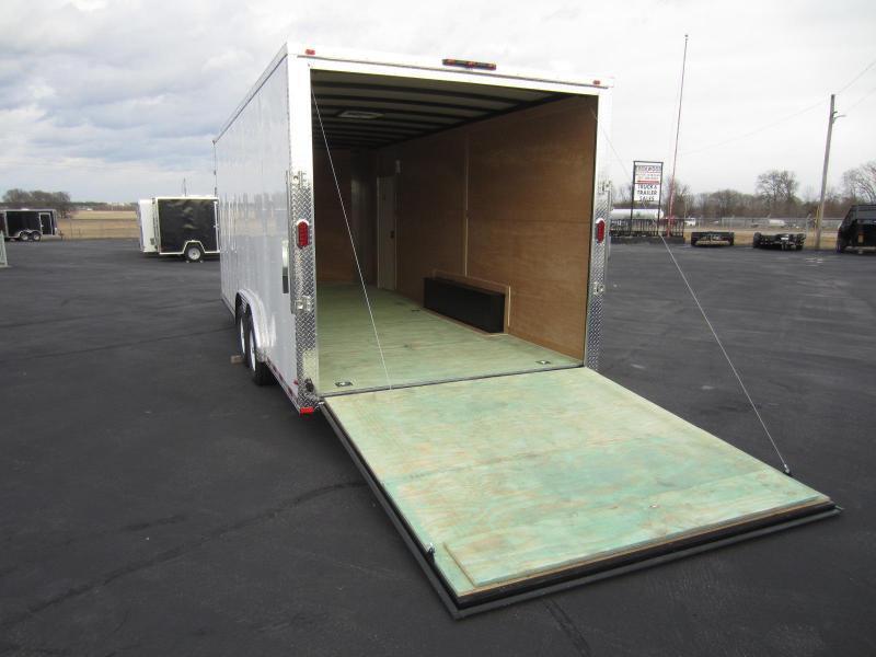 "2017 Arising 8.5X20VTRW Cargo / Enclosed Trailer 12"" Additional Height"