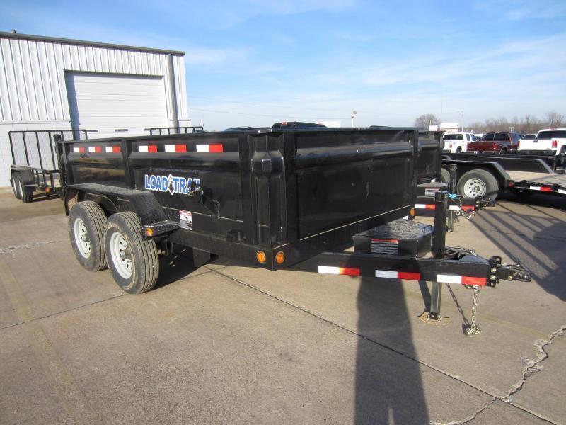 """2019 Load Trail 83"""" x 12' Tandem Axle Scissor Lift Dump"""