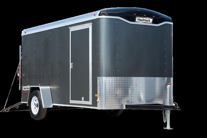 2017 Haulmark TST6X12DT2 Enclosed Cargo Trailer