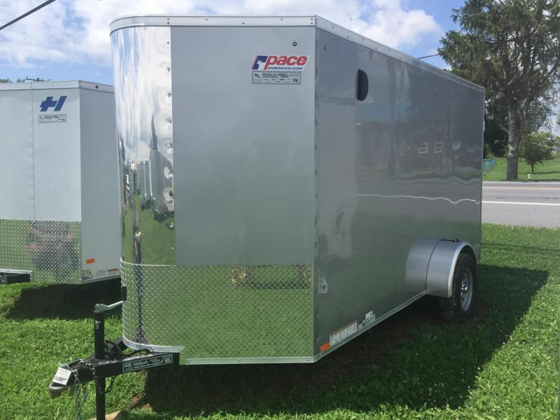 2017 Pace American CV6X12S12EX Enclosed Cargo Trailer