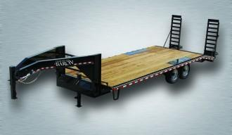 2019 Quality 24' Gooseneck (20' + 4' Pop Up Dovetail) Professional 17000# GVW
