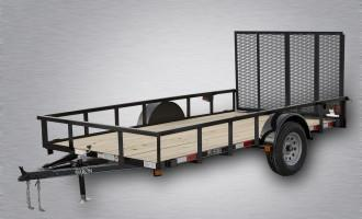 2020 Quality 5 x 10 Single Axle Landscape Trailer Professional