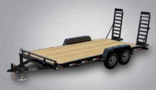 2020 Quality General Duty 18' (16' + 2' Dovetail) 10K Equipment Hauler