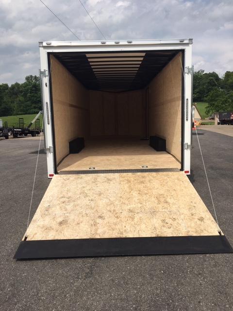 2019 American Hauler Industries 8.5 X 24 NIGHT HAWK CAR HAULER Enclosed Cargo Trailer