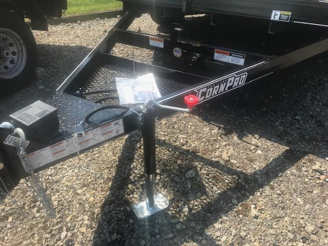2019 Corn Pro 12' Single Axle Tilt Trailer 6K