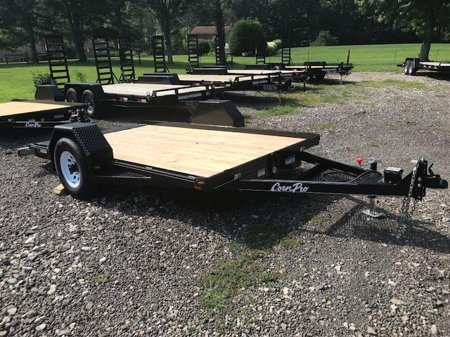 2019 Corn Pro 12' Single Axle Tilt Trailer 5K