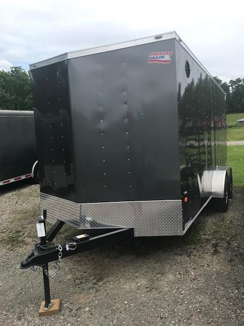 2019 American Hauler Industries 7 X 16 STEEL ARROW Enclosed Cargo Trailer