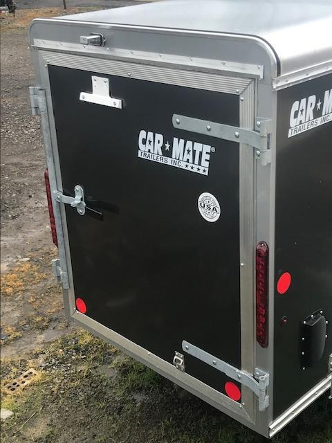 2019 Car Mate Trailers LITE DUTY 4 X 8 CUSTOM CARGO Enclosed Cargo Trailer
