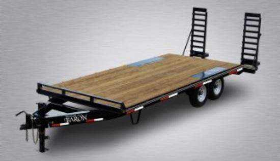 2019 Quality 20' Deckover (16' + 4' Dovetail) Trailer General Duty 9990# GVW