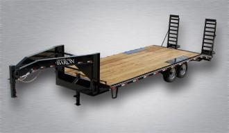 2020 Quality 24' Gooseneck (20' + 4' Dovetail) General Duty 14000# GVW