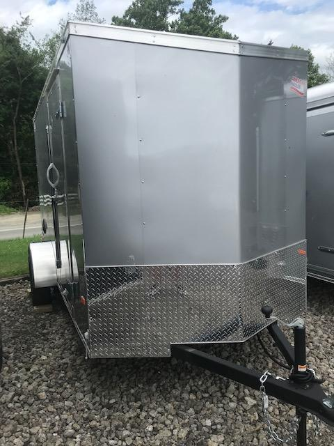 2019 American Hauler Industries 6 X 12 STEEL NIGHT HAWK Enclosed Cargo Trailer
