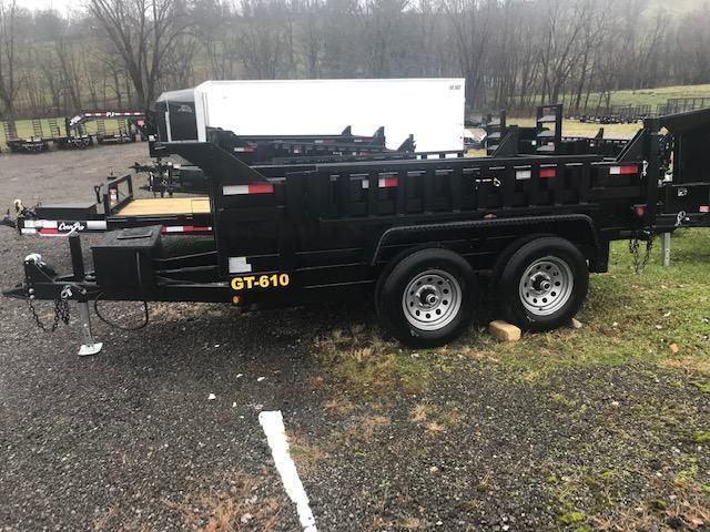 2019 Griffin 6 x 10 Low Profile 10K Dump Trailer