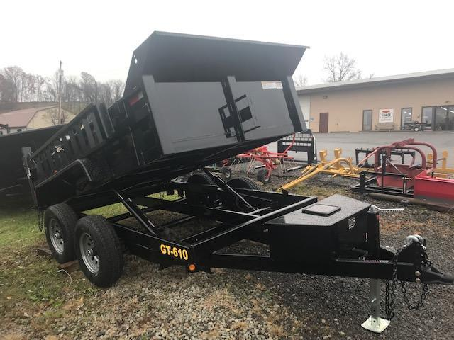 2020 Griffin 6 x 10 Low Profile 10K Dump Trailer