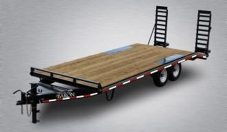 2019 Quality 23' Deckover (19' + 4' POP-UP Dovetail) Trailer PRO 16000# GVW
