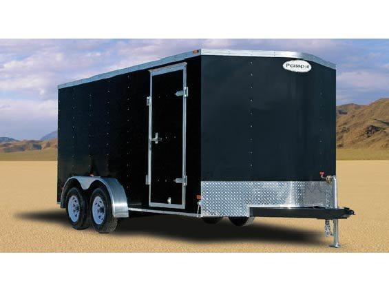 2016 Haulmark Trailers PPT7X12DT2 Enclosed Cargo Trailer