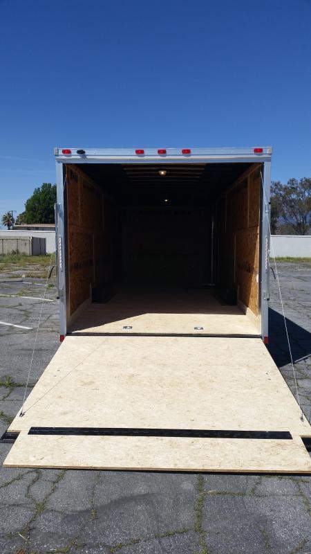 2018 Cargo Express 8.5 X 24 EX Cargo / Enclosed Trailer