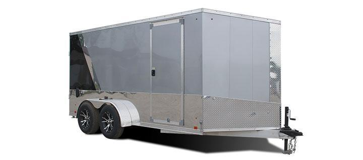 2018 Cargo Express Pro Series Aluminum Motorcycle Trailer