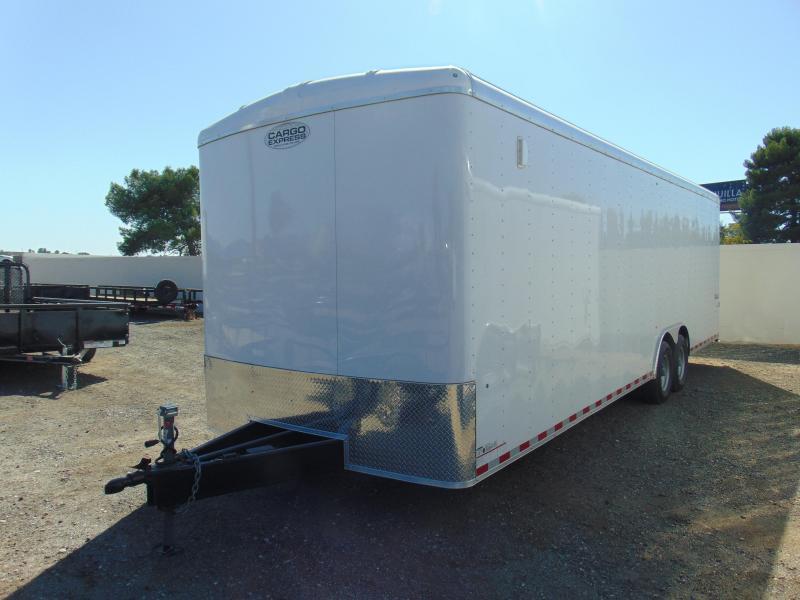 2019 Cargo Express 28' Enclosed Cargo Trailer