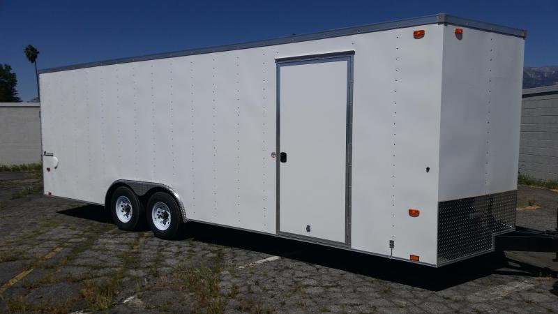2018 Cargo Express 8.5 X 24 LX Cargo / Enclosed Trailer