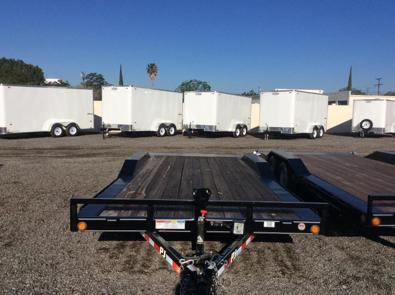 "2017 PJ Trailers 16' x 5"" Channel Buggy Hauler Trailer"