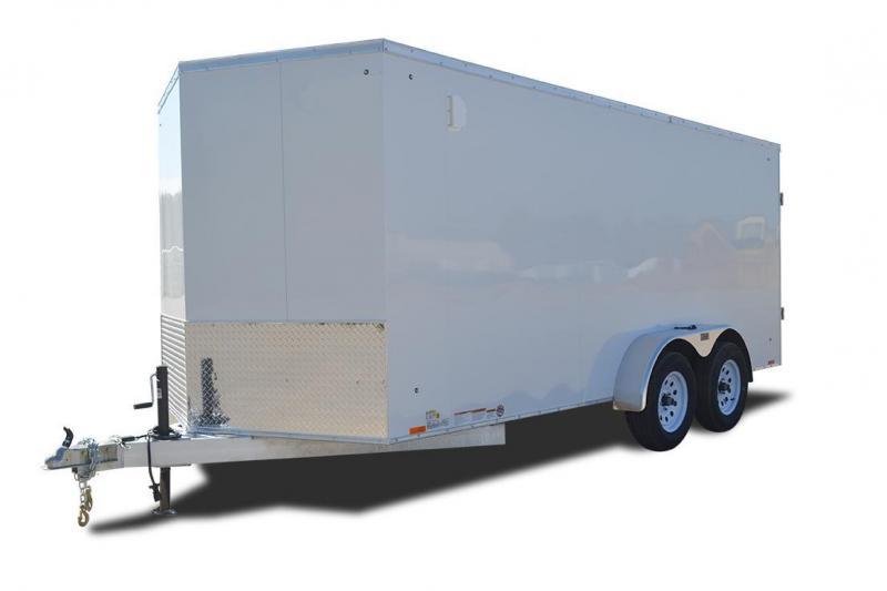 2018 Cargo Express AX Series Aluminum Enclosed Cargo Trailer