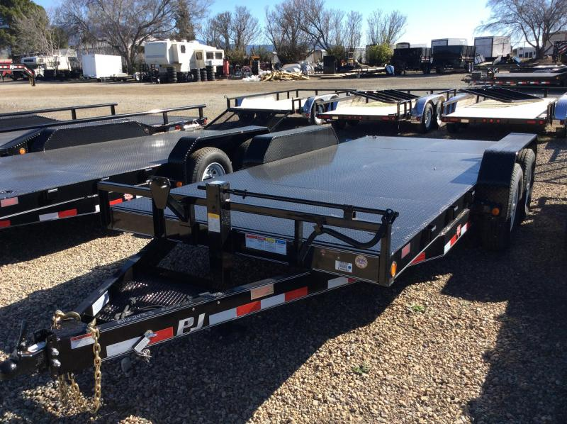 "2017 PJ Trailers 18' x 6"" Channel Equipment Trailer"
