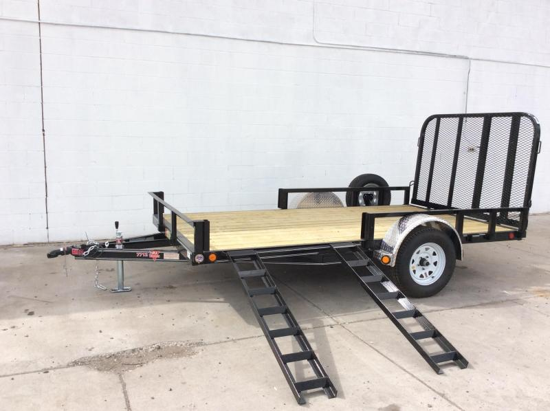 "2017 PJ Trailers 14' x 83"" Channel Utility Trailer"